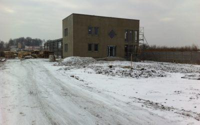 Rozpoczęliśmy budowę nowej siedziby firmy EKO-WTÓR Spółka Cywilna